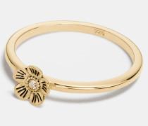 """Feiner Willow Floral"""" -Ring mit 18-Karat-Goldlegierung"""