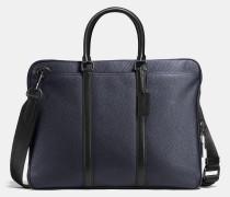 Metropolitan Slim Brief In Material Block Leather