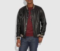 Souvenir Jacke aus Leder wendbar