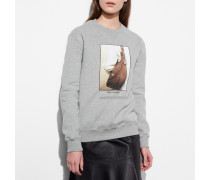 Sweatshirt With Archive Print