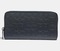 Akkordeon-Portemonnaie aus charakteristischem Leder