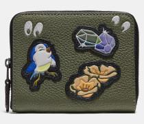 Disney X kleines Portemonnaie mit Rundum-Reißverschluss und unheimliche Augen-Print