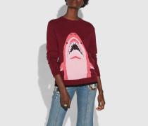 Sharky Pullover mit Rundhalsausschnitt