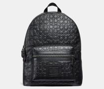 Academy Rucksack aus charakteristischem Leder