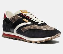 C180 Low Top Sneaker mit Pferdekutschenprint