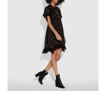 Babydoll-Kleid mit Waldblumen-Print