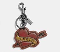 Schlüsselanhänger mit Herztattoo