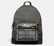 """Academy Rucksack mit Wild Beast""""-Print und Storypatch"""