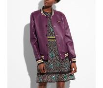 Leather Varsity Jacket