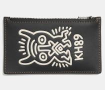 X Keith Haring Kartenetui mit ReiBverschluss