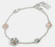 """Willow Floral""""-Gliederarmband mit Nieten"""