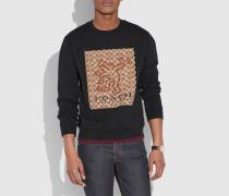 X Keith Haring charakteristisches Sweatshirt