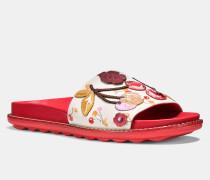 Sportliche Sandale mit Kirsch-Aufnähern