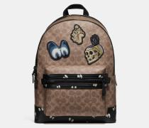 Disney X Academy Rucksack aus charakteristischem Patchwork