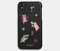 Iphone X/XS Case mit Party Animals-Print