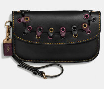 Clutch In Link Glovetanned Leather