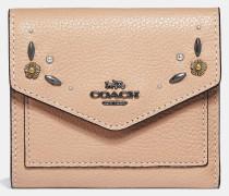 Kleines Portemonnaie mit Prärie-Nieten