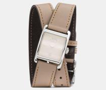 Renwick Armbanduhr mit Wickelarmband aus Leder