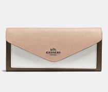 Weiches Portemonnaie in Blockfarben