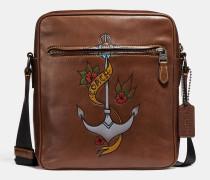 Metropolitan Reisetasche mit Tattoo-Details