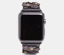 "Apple Watch® Armband mit Tea Rose""-Applikation"