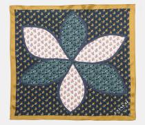 Patchwork-Taschentuch mit Margeriten-Print