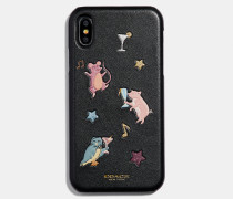 Iphone XR Case mit Party Animals-Print