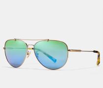 Pilotensonnenbrille mit Drahtrahmen