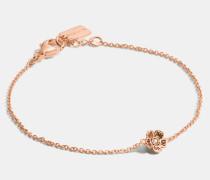 "Mini Tea Rose""-Armband mit 18kt Goldlegierung"