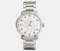 Bleecker Armbanduhr aus Edelstahl