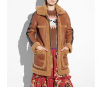 Reversible Shearling Parka