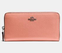 Akkordeon-Portemonnaie mit Reißverschluss