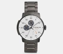 Ionenplattierte Bleecker Armbanduhr mit Gliederarmband
