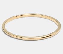 Schlichter Sonnen-Bandring mit 18-Karat-Goldlegierung