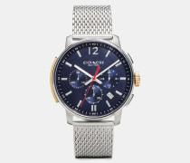 Schmale Bleecker Armbanduhr, 42 mm