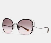 Sonnenbrille mit Zierdraht