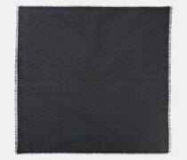 Quadratischer Oversize-Schal mit charakteristischem Ketten-Print-Monogramm