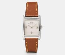 Renwick Armbanduhr mit Lederarmband