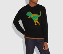 Pullover mit Rexy-Intarsien