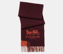 Zweifarbiger charakteristischer Schal aus Kaschmir