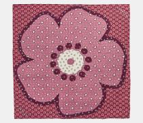 Tea Rose Vintage Stars Patchwork Oversized Square