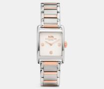 Renwick Armbanduhr mit zwei Farbtönen