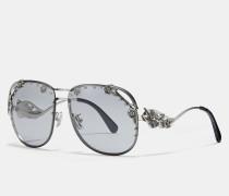 "Aviator-Sonnenbrille im Tea Rose""-Design"