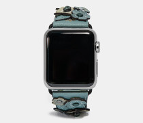 "Apple Watch® Kristall- Tea Rose""-Armband"