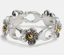 """Feiner Willow Floral""""-Ring mit 18-Karat-Goldlegierung"""