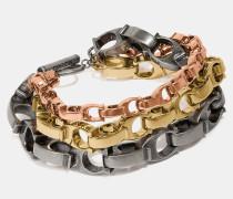 Charakteristisches Armband mit durchgezogenen Ketten