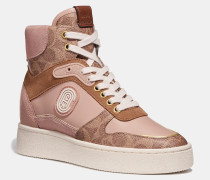 C220 Hightop-Sneaker mit Aufnäher
