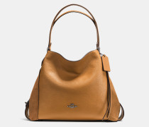 Edie Shoulder Bag 31 In Mixed Leathers