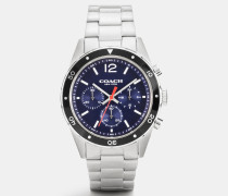 Sullivan Sport Stainless Steel Chrono Bracelet Watch