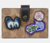 Disney X Akkordeon Kartenetui aus charakteristischem Patchwork